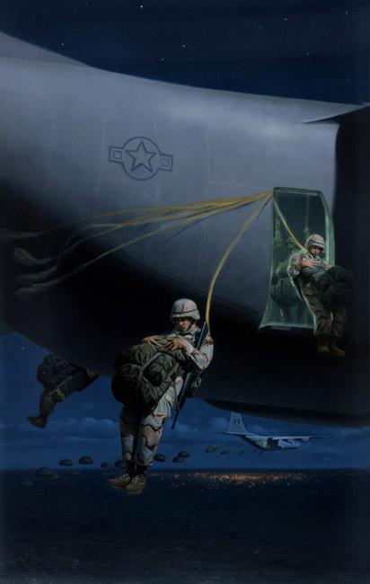 82nd Airborne Night Drop