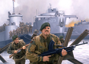 British Royal Marine Commando