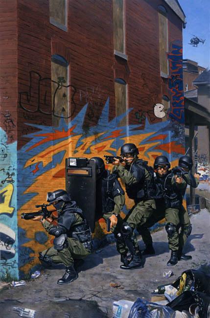 SWAT Silent Entry Team