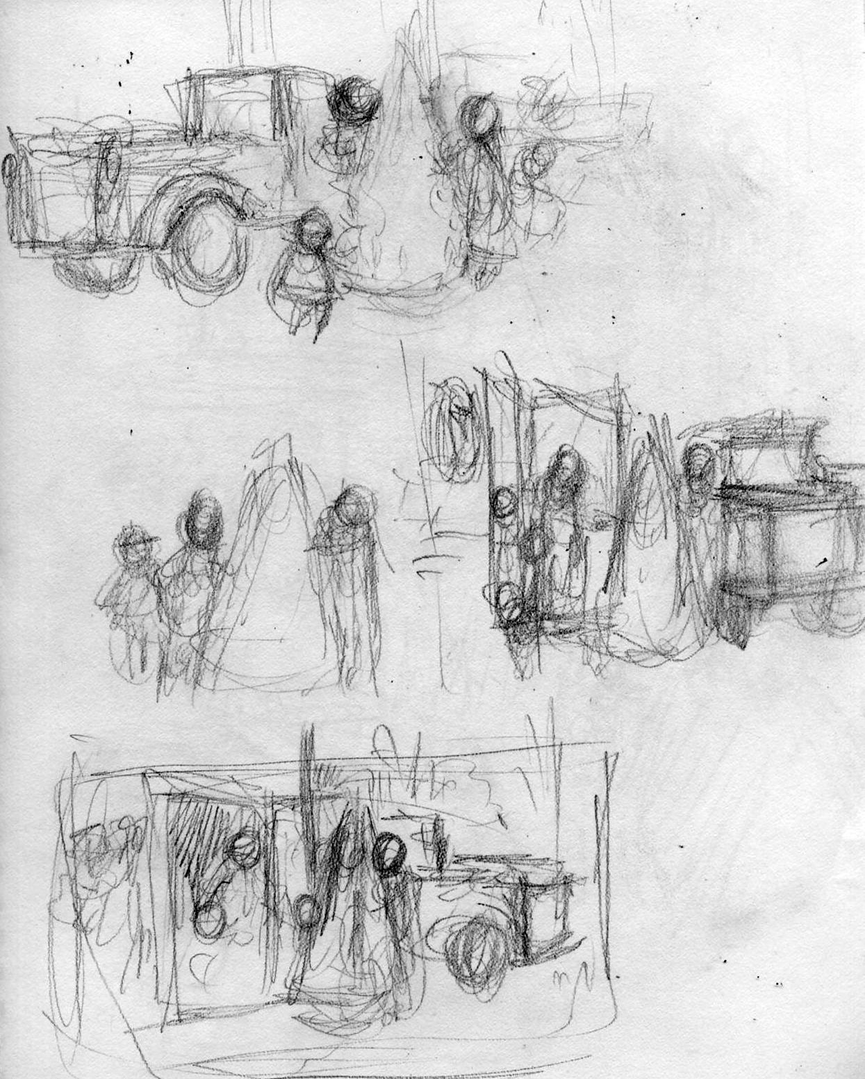 Christmas Sketches.Christmas Sketches Larry Selman Art