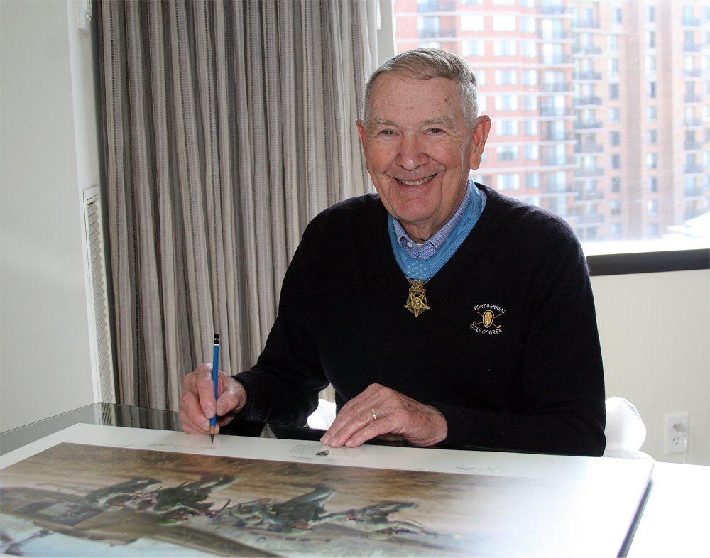 Medal of Honor Recipient Joe Marm